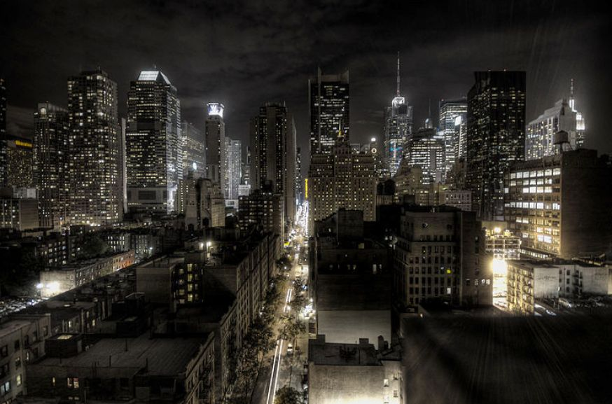 New york city night time pictures 3 874x577