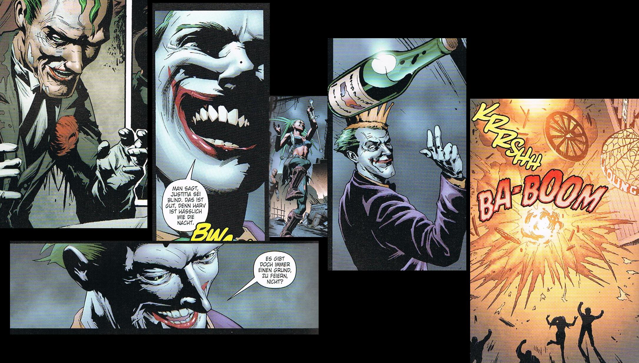 Arkham City Wallpaper   Joker Tribute 2 by AvasweetsJoker on 2172x1236