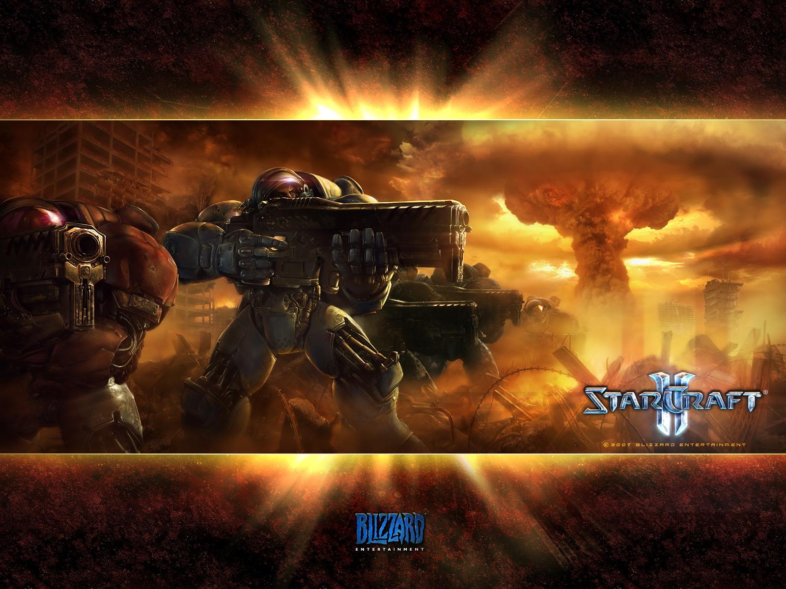 StarCraft 2 Nuke Wallpaper 1600x1200