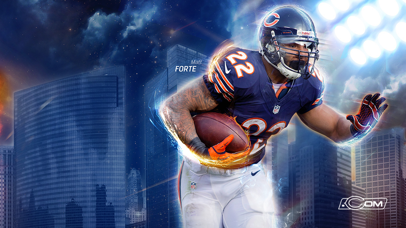 Chicago Bears 2013 Wallpapers 1366x768