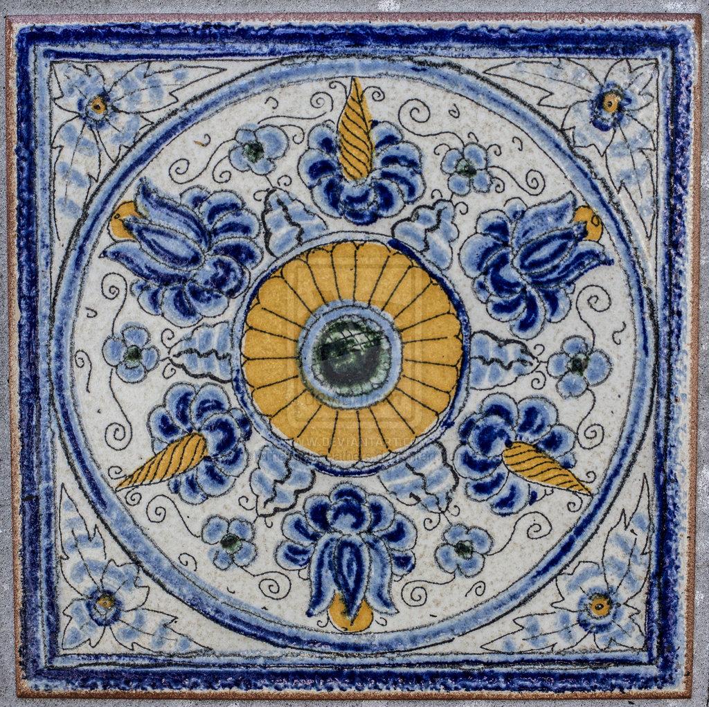 Spanish Tile Wallpaper 1024x1021