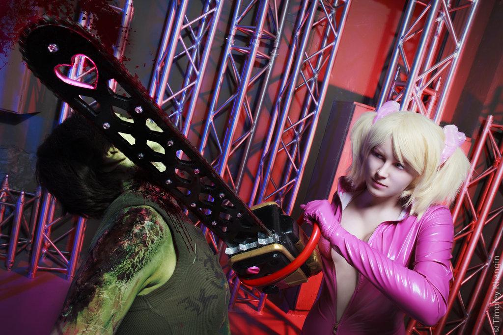 Lollipop Chainsaw Juliet Starling cosplay by ZyunkaMukhina on 1024x683