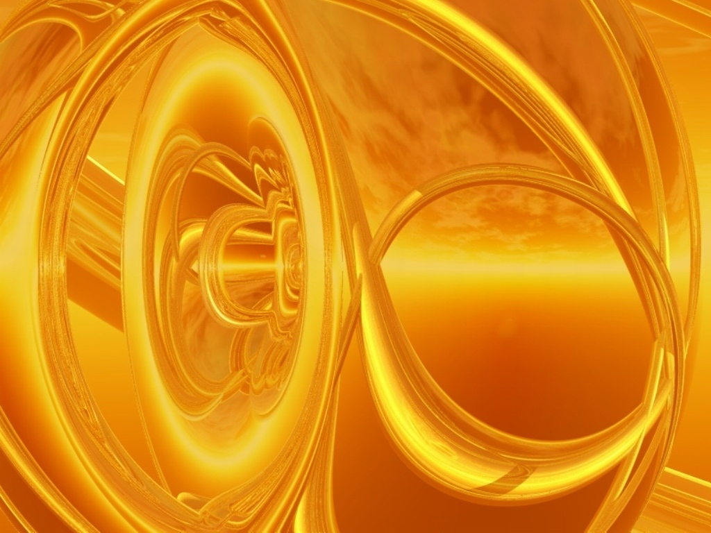gold abstract wallpaper which is under the abstract wallpapers 1024x768