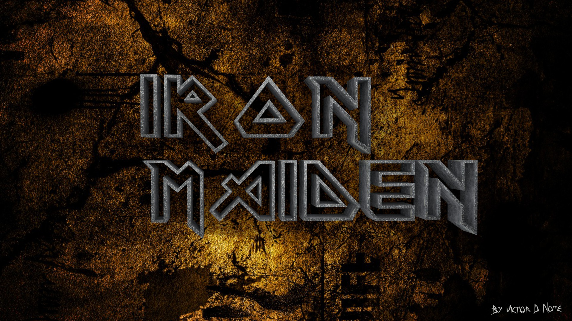 Go Back Images For Iron Maiden Logo Wallpaper 1920x1080