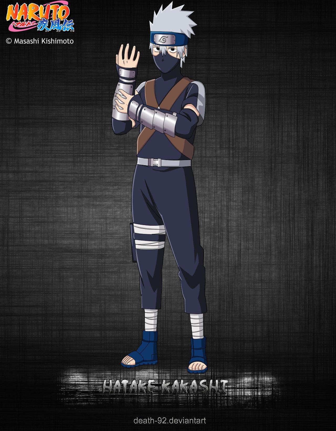Hatake Kakashi young by Death 92 1280x1640