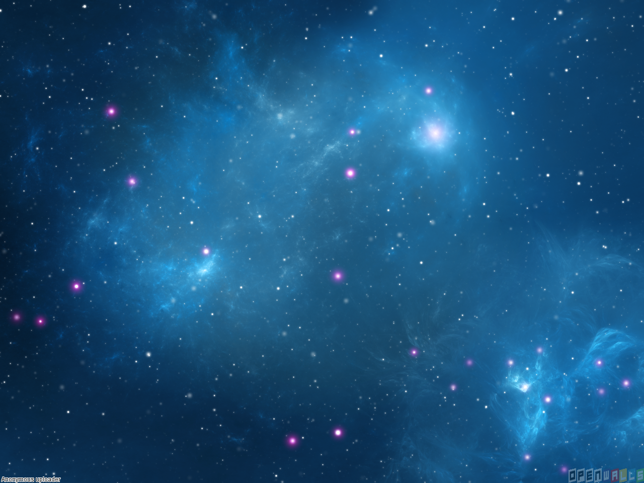 Blue space wallpaper 14339   Open Walls 1280x960