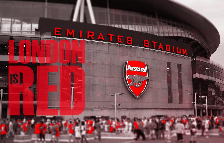 Wallpaper red arsenal london stadium football fanart 1332x850