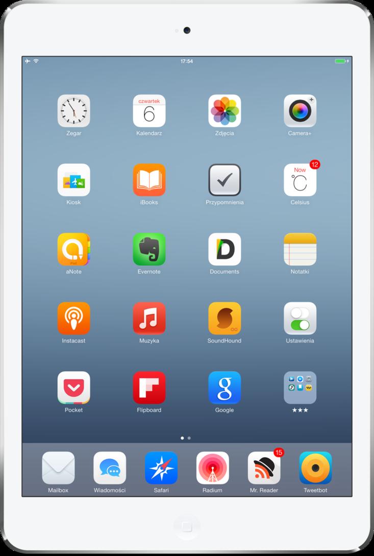 My iPad Mini Retina by iRemik 733x1089