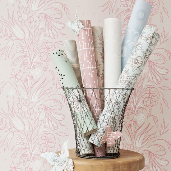 sustainable wallpaper Eco friendly ideas How to introduce eco chic 550x550