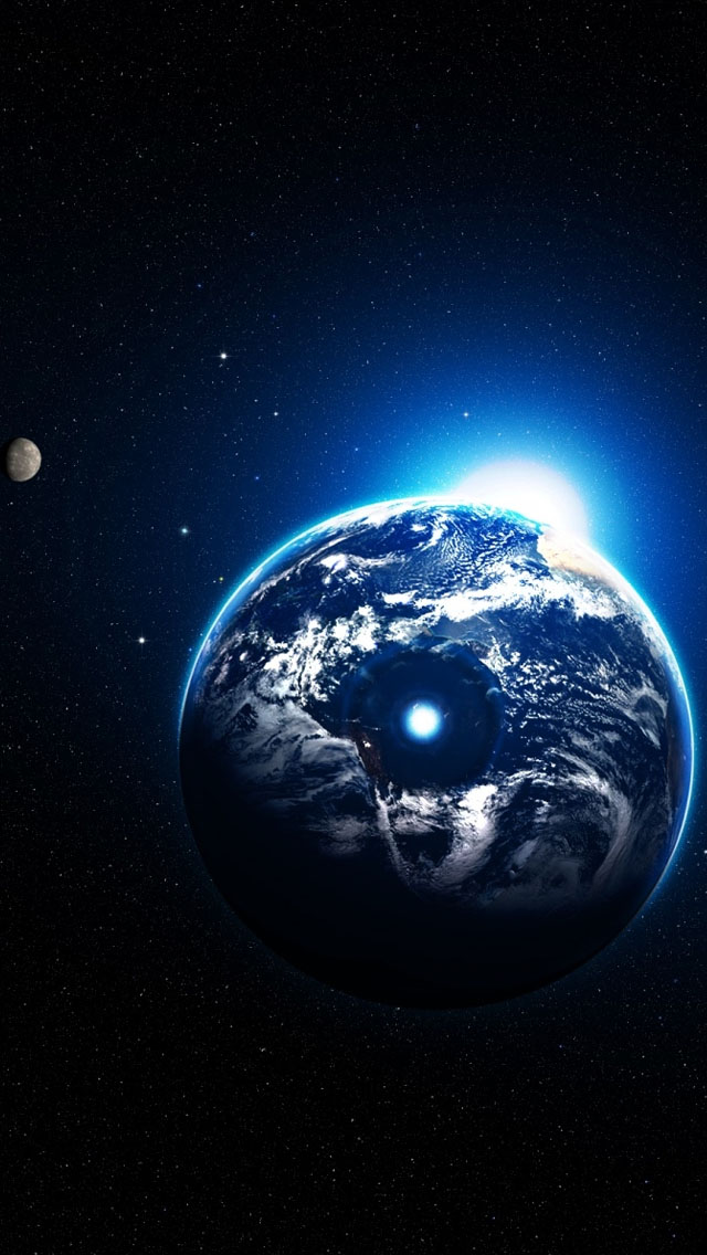 Artistic Earth IPhone 5s Wallpaper Download Wallpapers IPad 640x1136