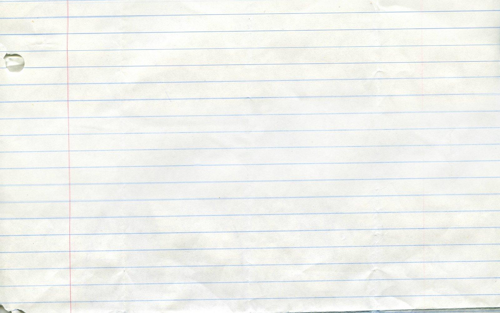 Online Notebook Paper 1600x1000