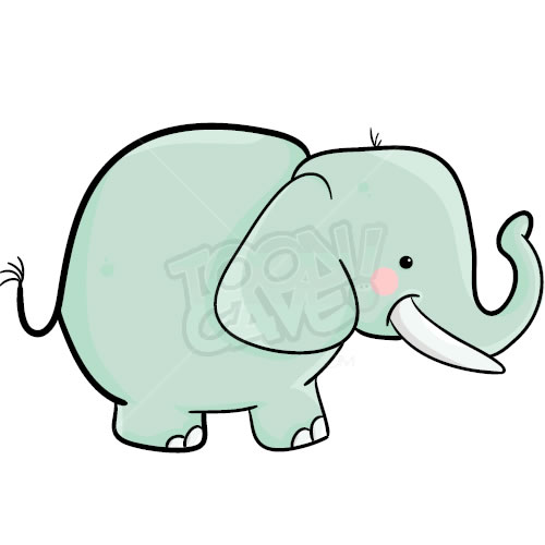 cartoon elephant wallpaper - photo #7