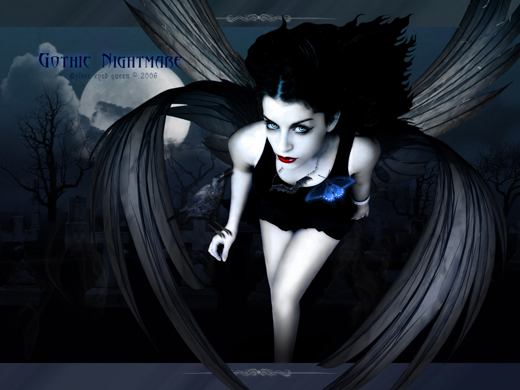 Gothic Nightmare   Gothic Wallpaper 24620686 1024x768