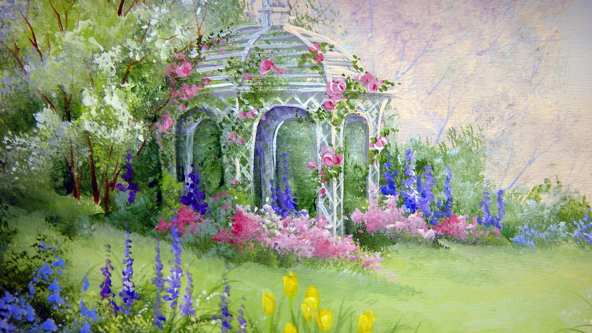 Flower Garden Wallpapers Best Wallpapers 1920x1080