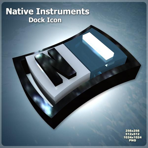 Native Instruments Dock Icon by AlperEsin 600x600