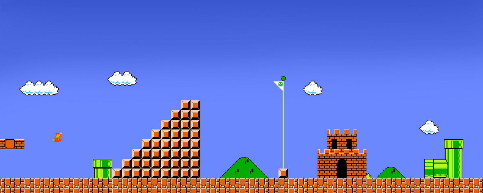 Wallpapers Retro Video Game Post 1600x640