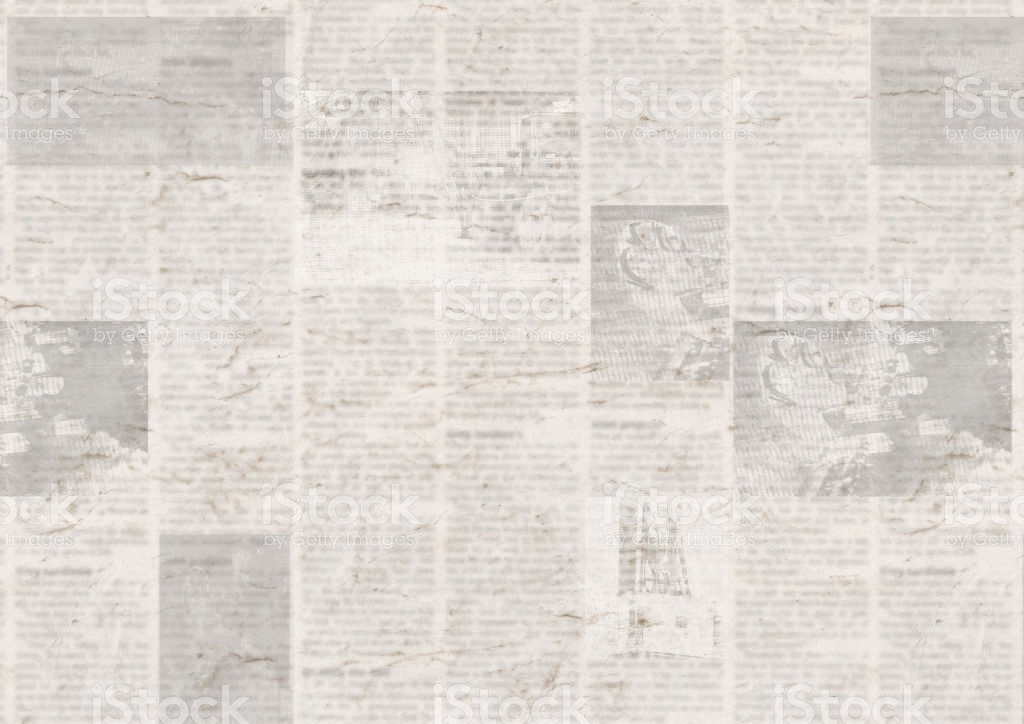 Newspaper With Old Grunge Vintage Unreadable Paper Texture 1024x724