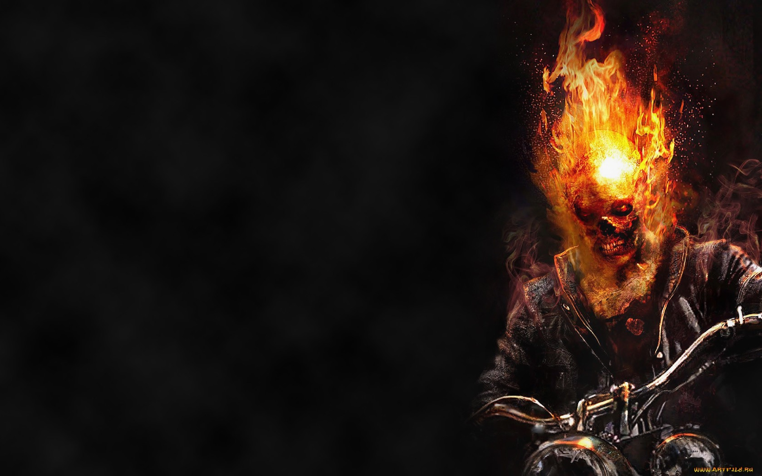 Ghost rider   The Ghost Rider Wallpaper 36926458 2560x1600