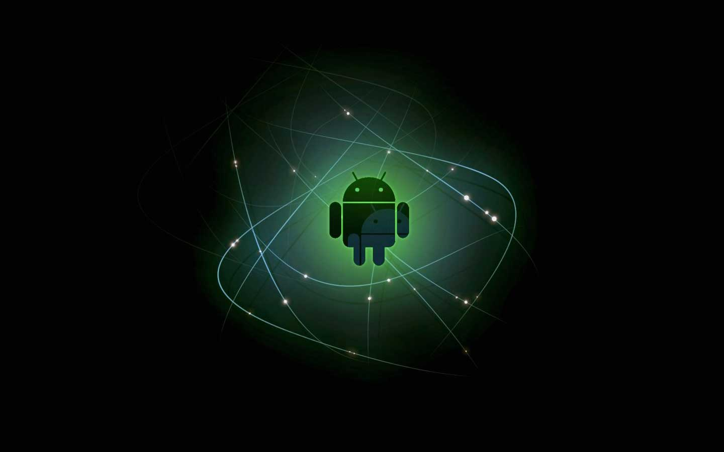 android background black color wallpaper details 1440x900