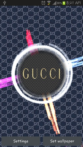 View bigger   Gucci HD Live Wallpaper for Android screenshot 288x512