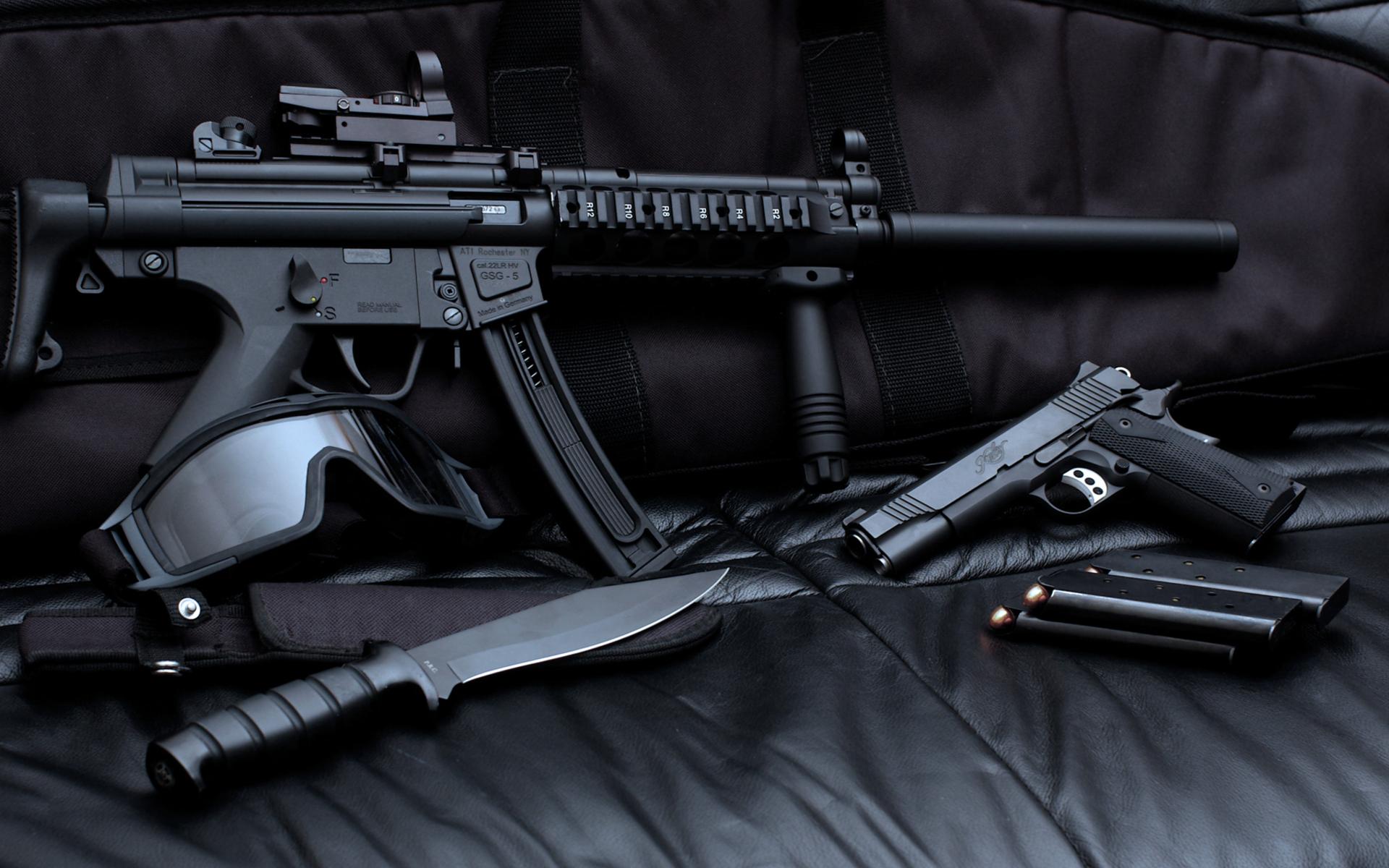 weapon gun wallpaper gear hd desktop wallpapers