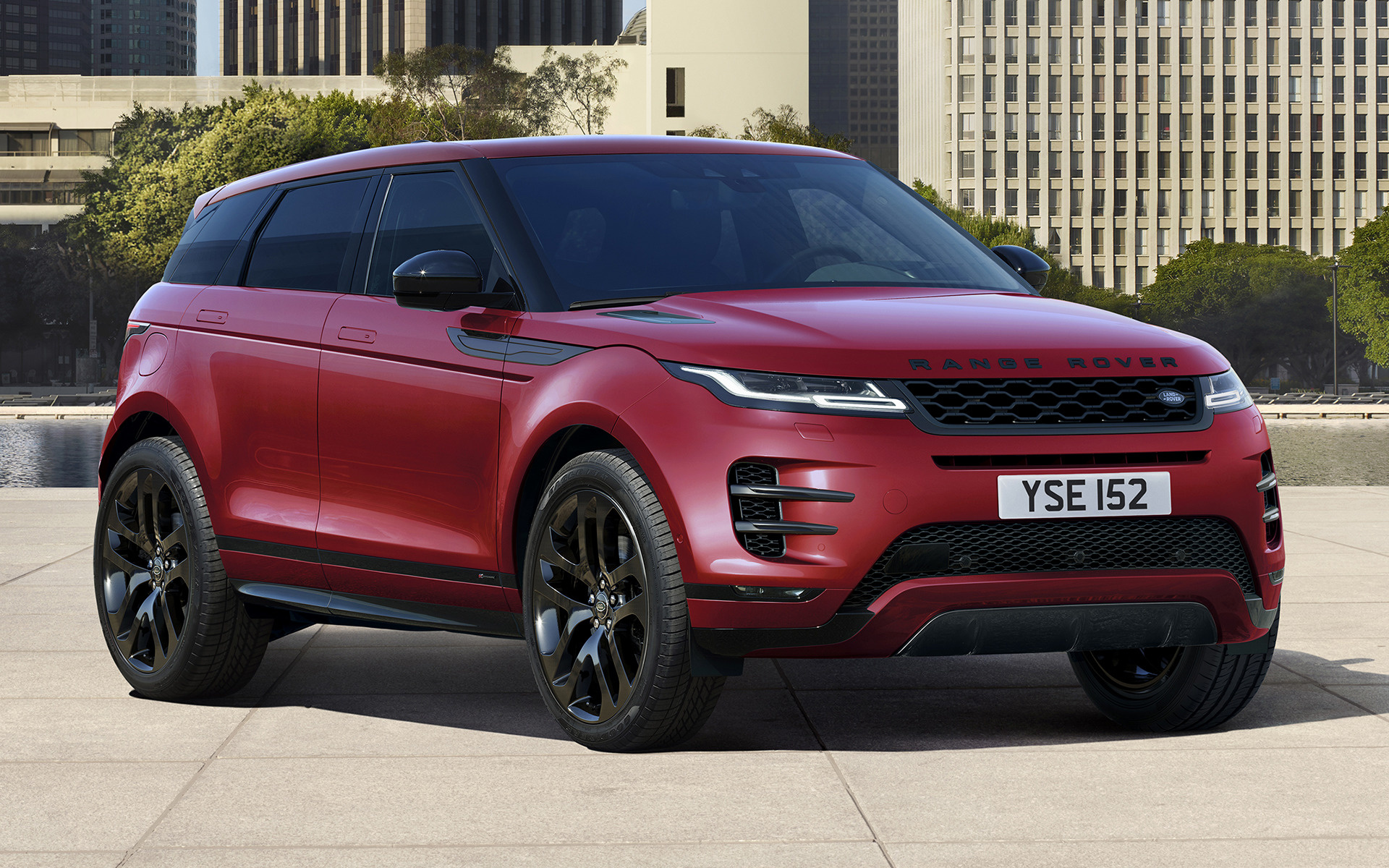 2019 Range Rover Evoque R Dynamic Black Pack   Wallpapers and HD 1920x1200