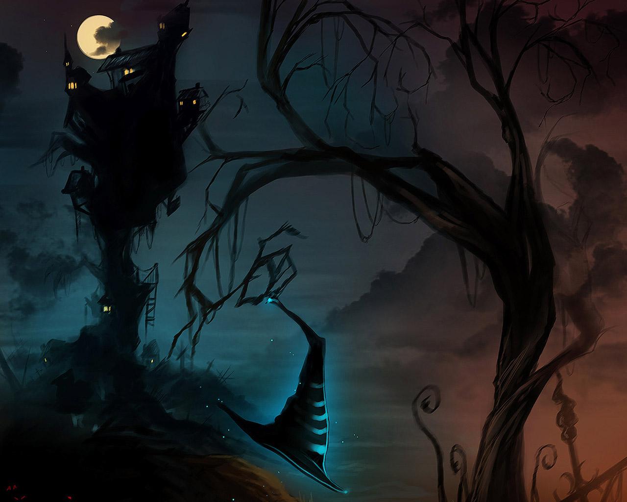 Halloween 2014 Wallpaper Scary Halloween Backgrounds Wallpaper 1280x1024