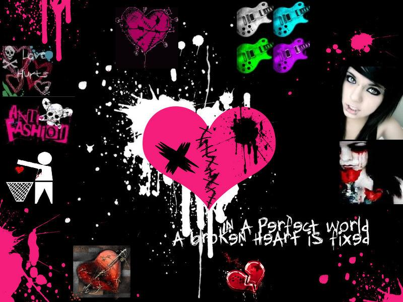 Cool Emo Background Wallpapers 800x599