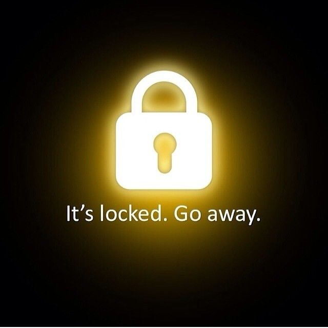 Its Locked Go Away Pictures Photos and Images for 640x640