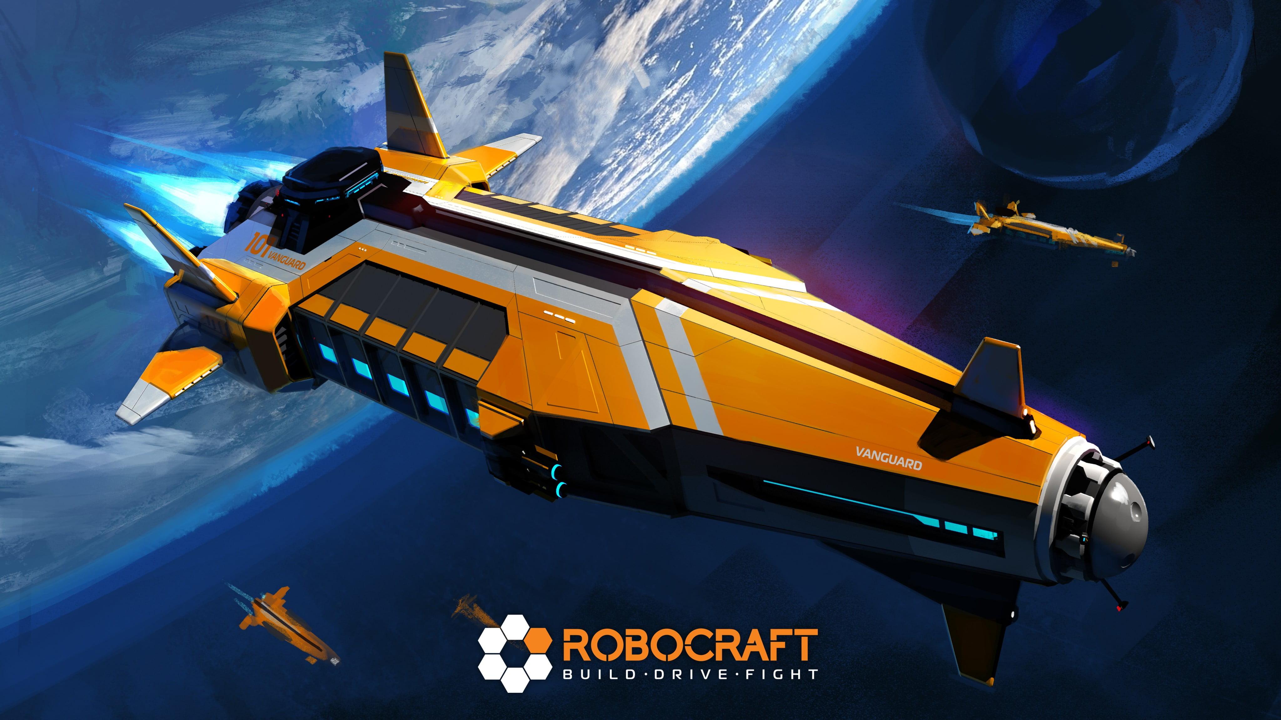 Robocraft cover robocraft robot video games HD wallpaper 4096x2304