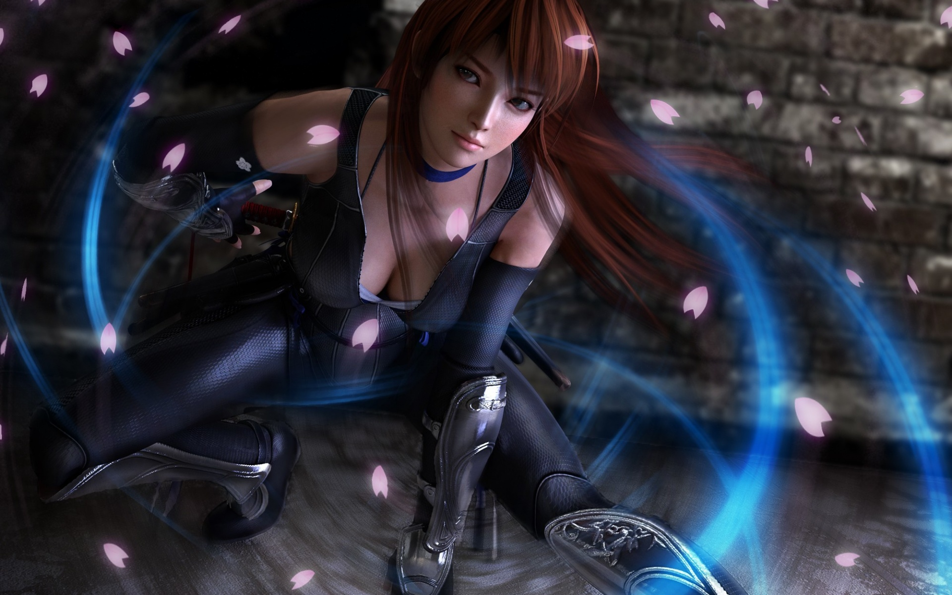 Dead Or Alive 5 Kasumi Ninja Girl HD Wallpaper 1920x1200