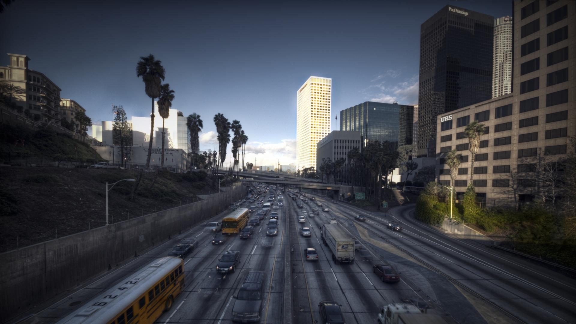 Los Angeles HD Wallpapers 1080p - WallpaperSafari