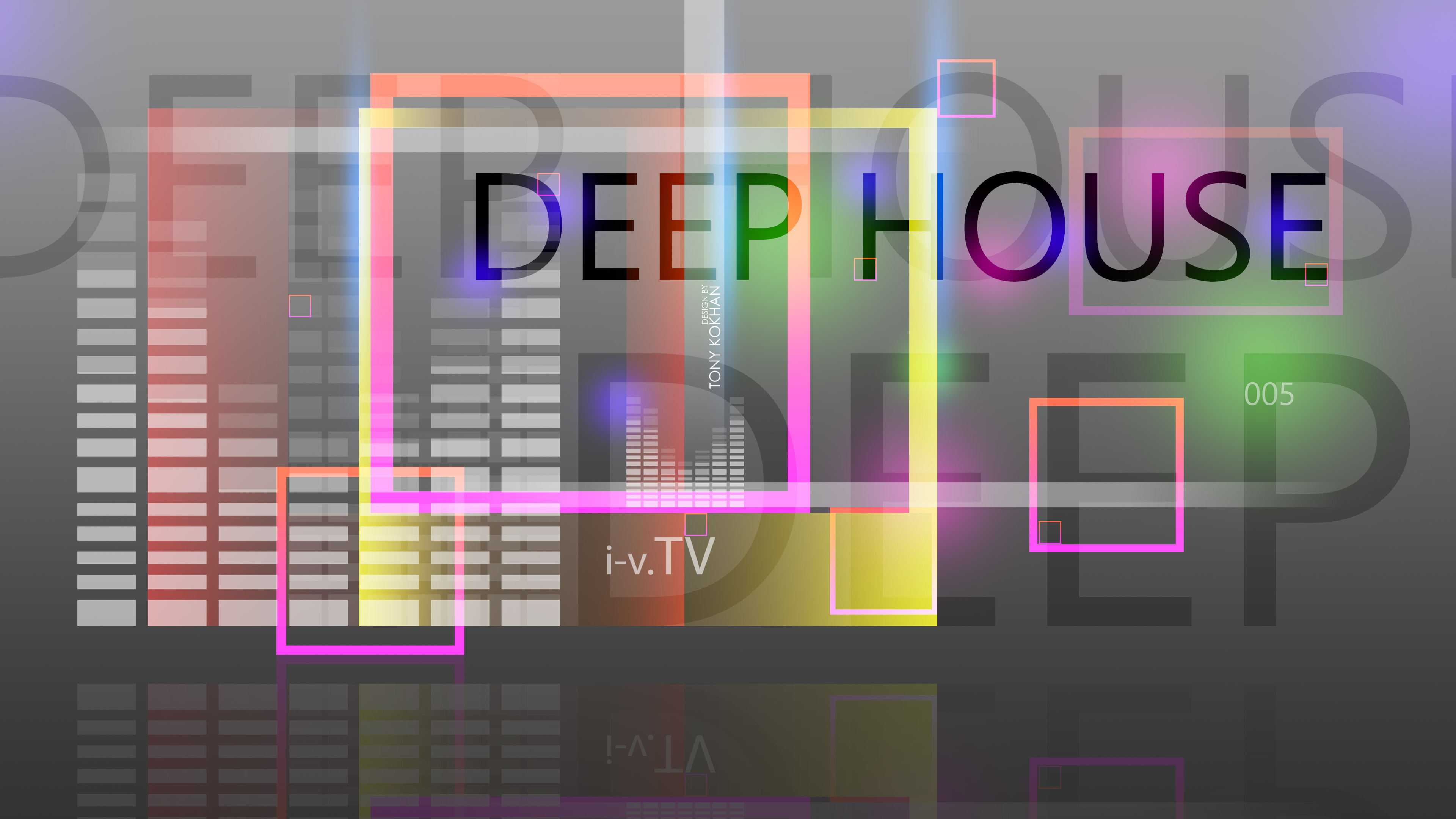 Deep House Music eQ Simple Creative Five Abstract Words 3840x2160