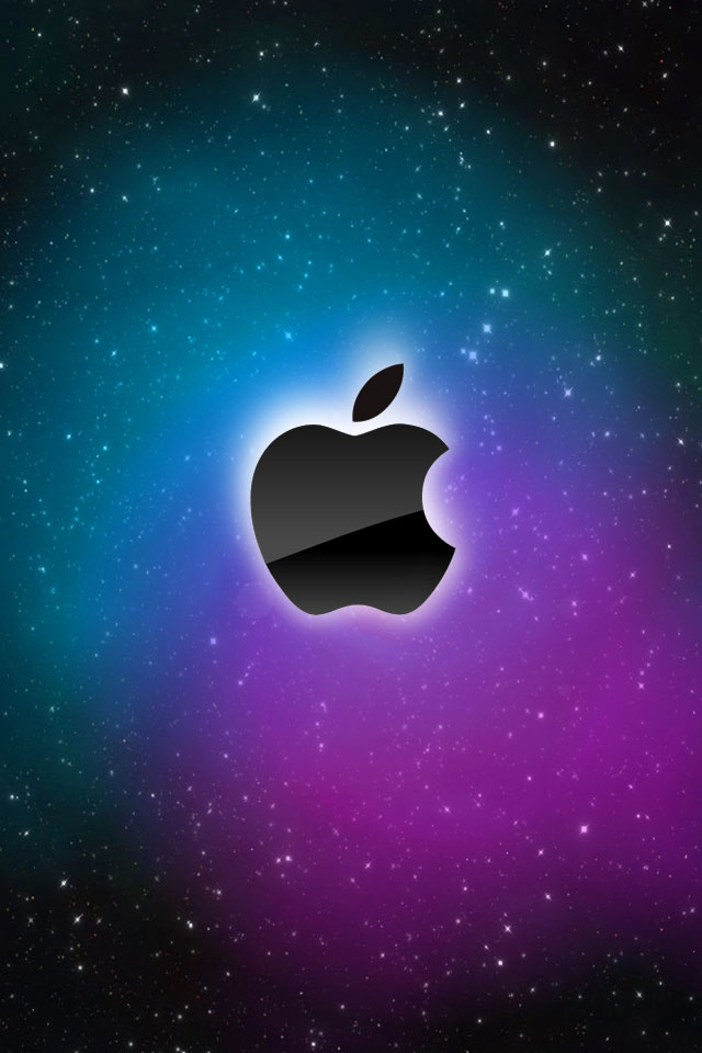 40 iPhone Wallpapers with Apple Logos   Azhar Kamar 640x960