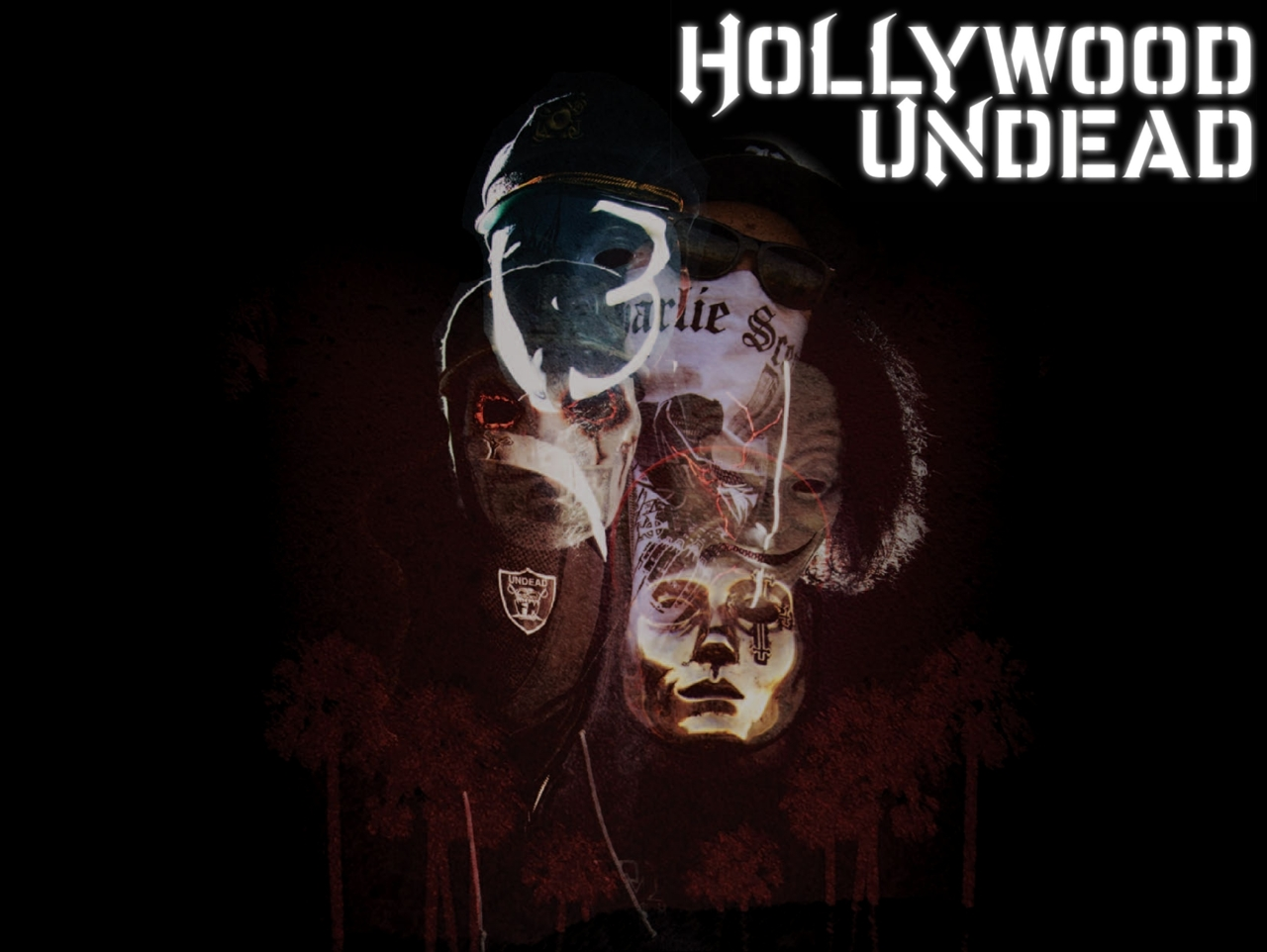 Hollywood Undead American Tragedy Redux Wallpaper 1280x962