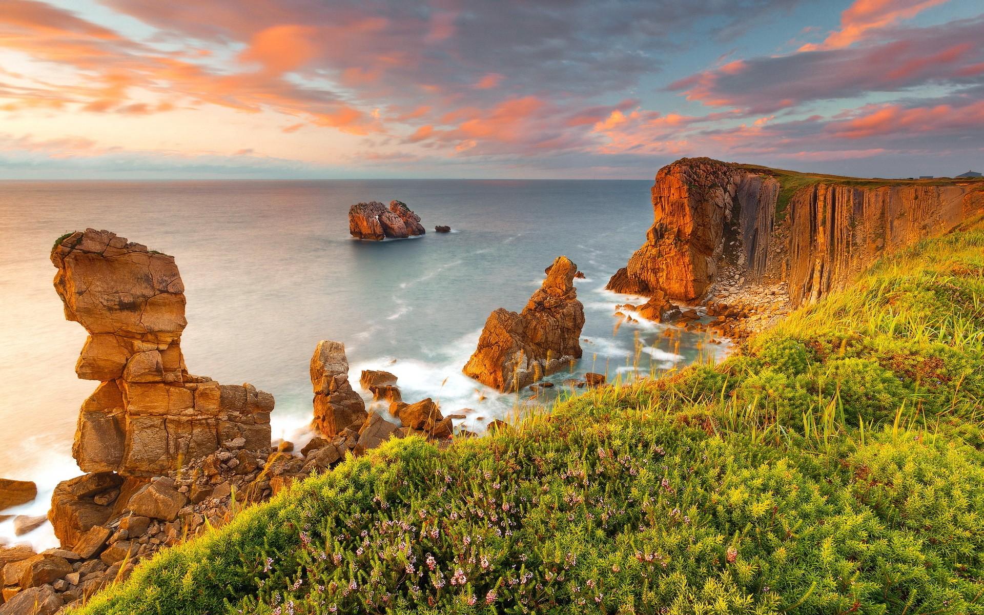 Background Images View Landscapes Ocean Coast Background 1920x1200