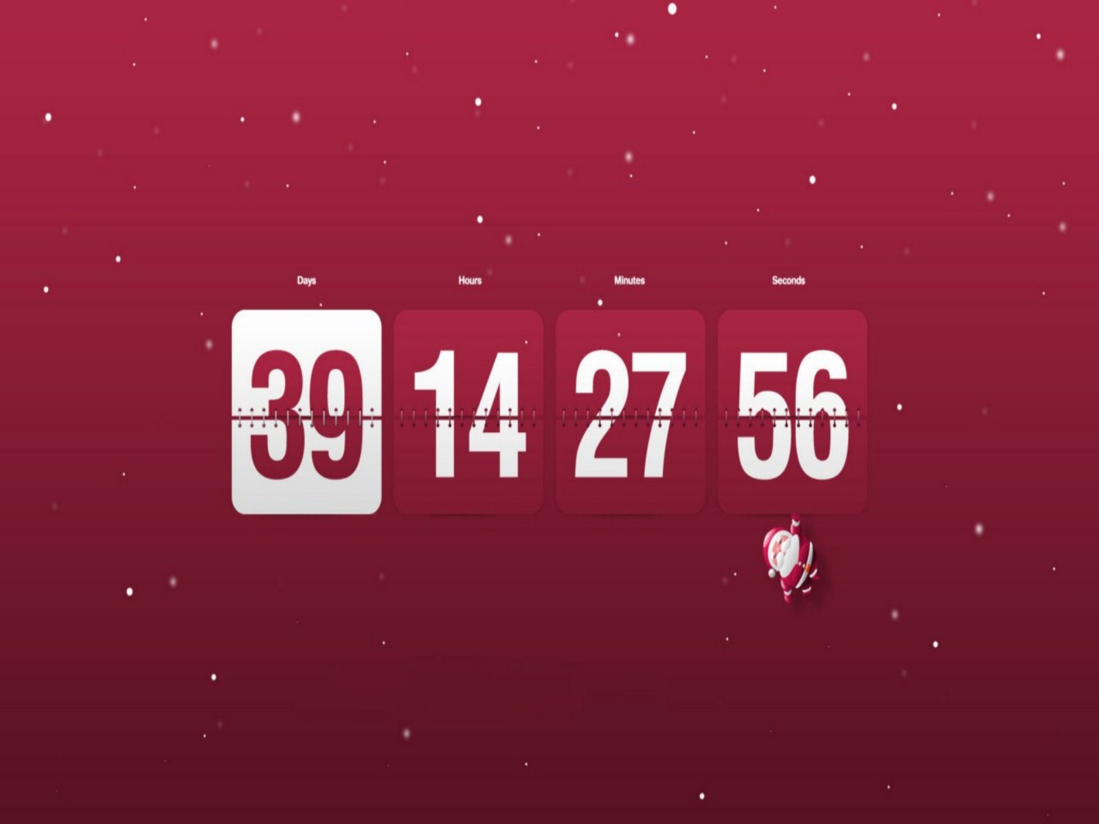 netwallpaperwallpaper christmas countdown wallpapershtm 1600x1200