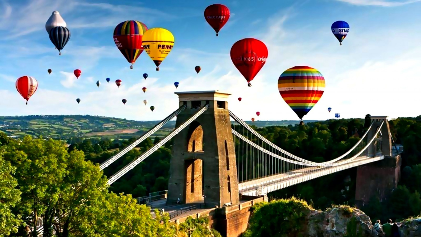Colorful Hot Air Balloons Wallpaper Wallpapersafari