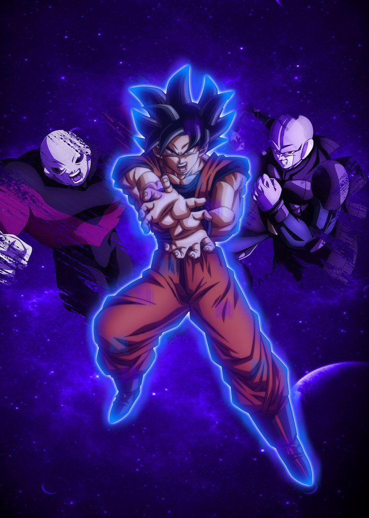Goku Ultra Instinct Wallpapers 754x1059