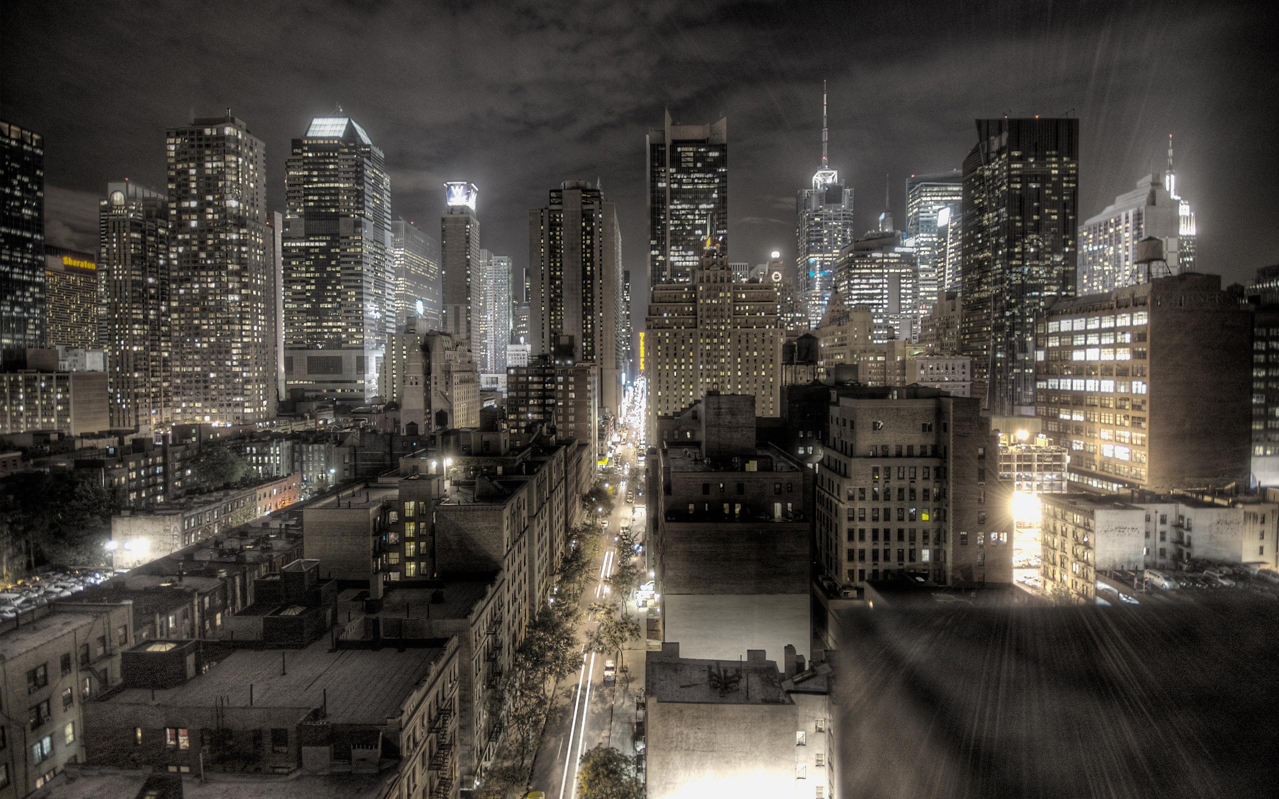 Dark Newyork city Wallpapers HD Wallpapers 2560x1600