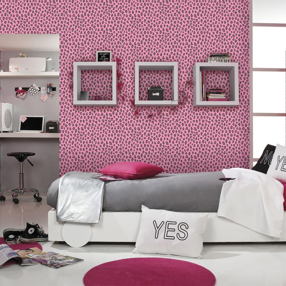 Download Cheetah Print Wallpaper For Bedrooms Rasch wallpaper ...