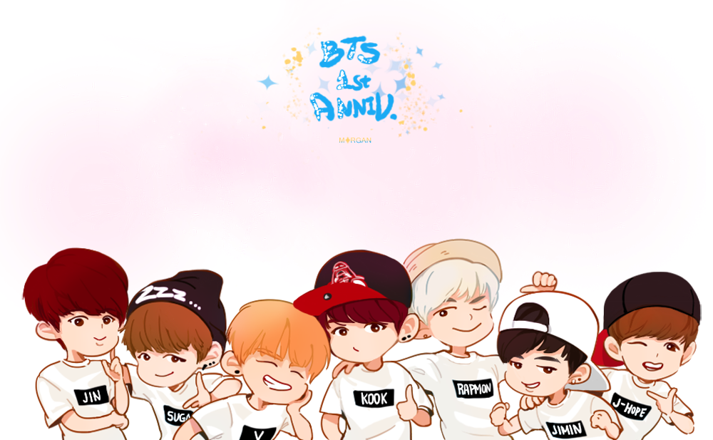 Download Bts Chibi Wallpaper 52   Wallpaper For your screen 1000x617