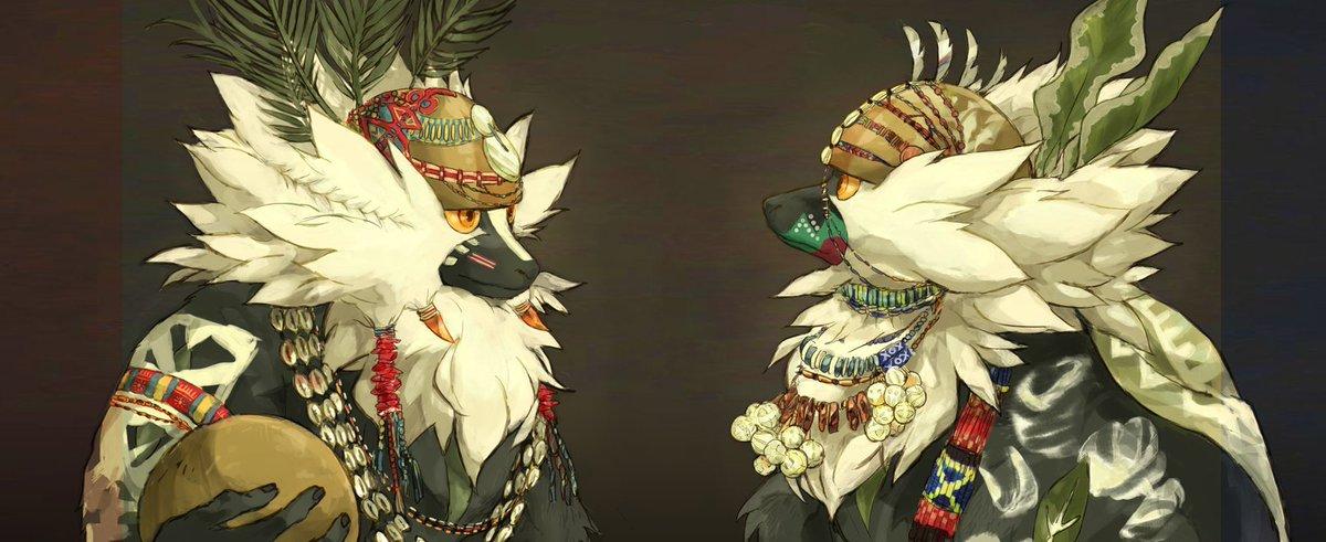 Passimian the tribal chief By Nyala p Pokemonart 1200x491