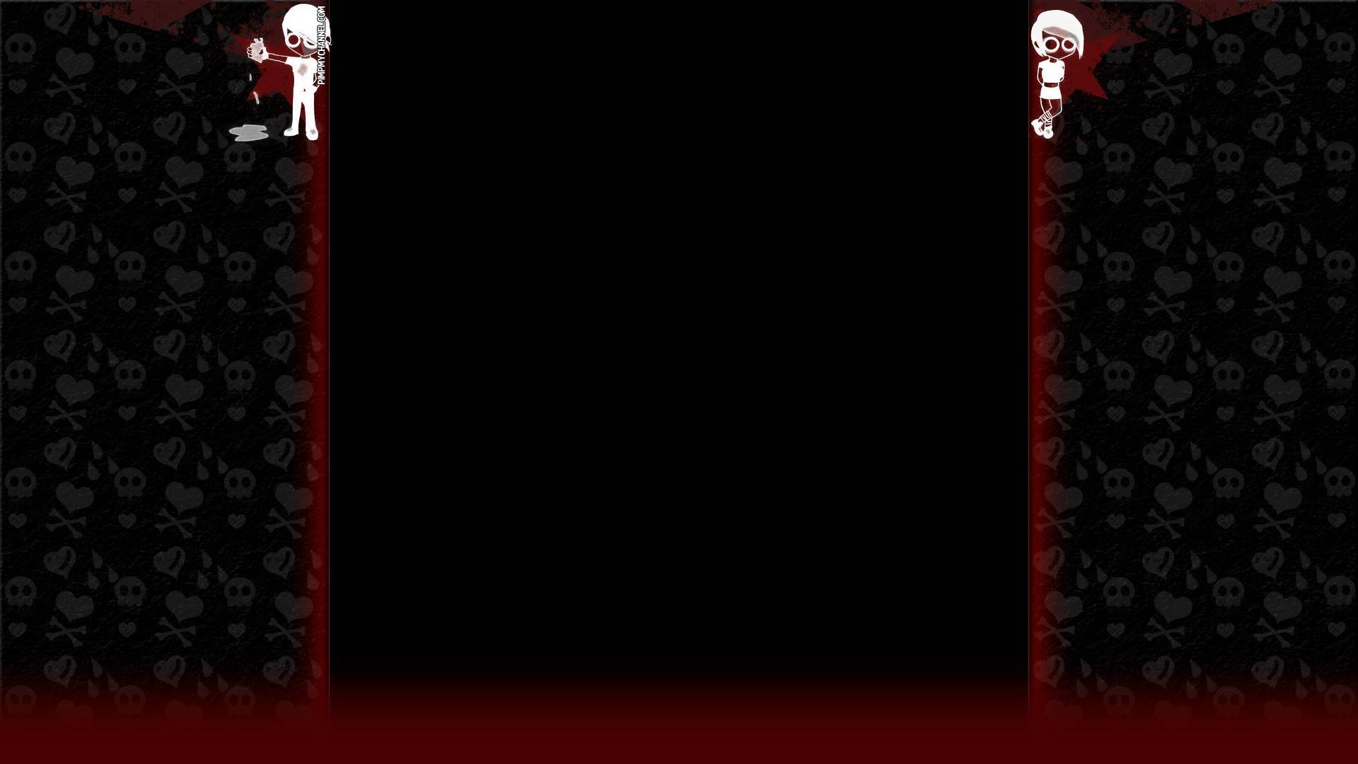Black And Red Youtube Backgrounds H   Youtube Wallpaper 1920x1080