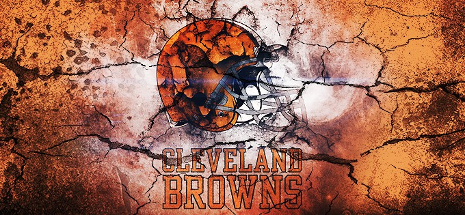 Cleveland browns wallpaper border 680x315