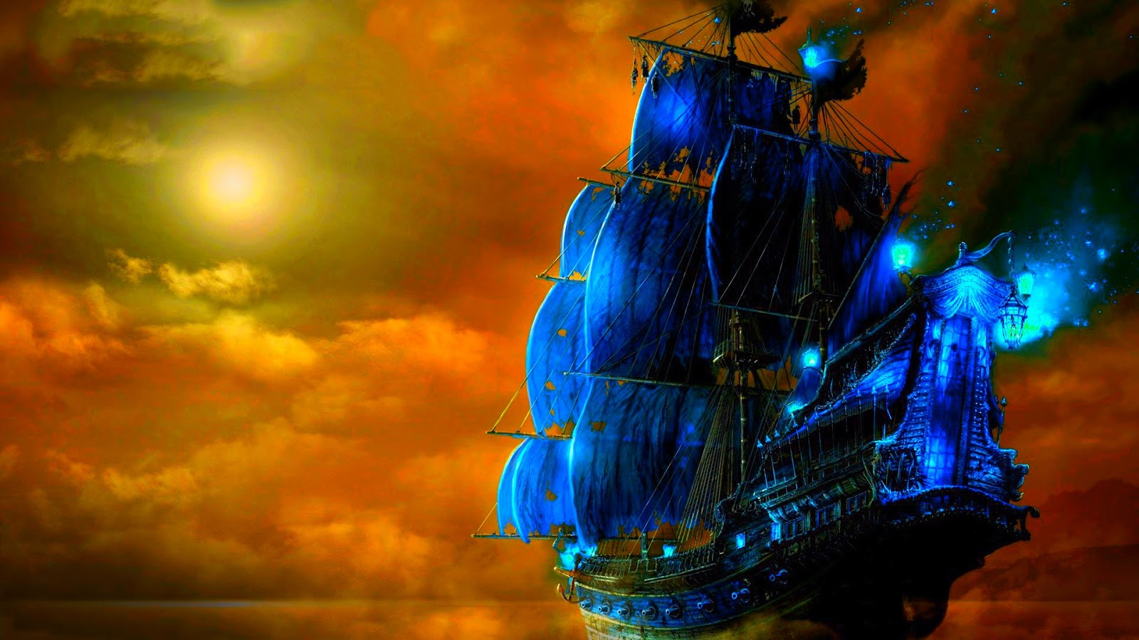 44 3d Pirate Ship Wallpaper On Wallpapersafari
