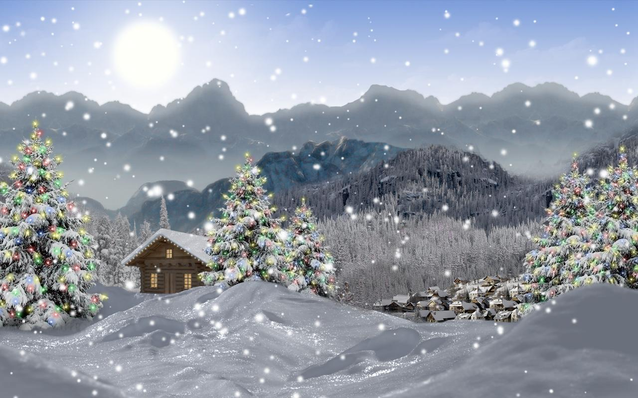 Живые Зимние Обои На Телефон Бесплатно