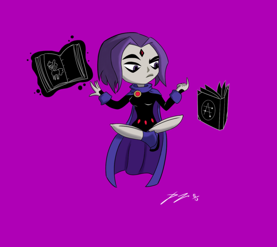 Pictures of raven from teen titans go