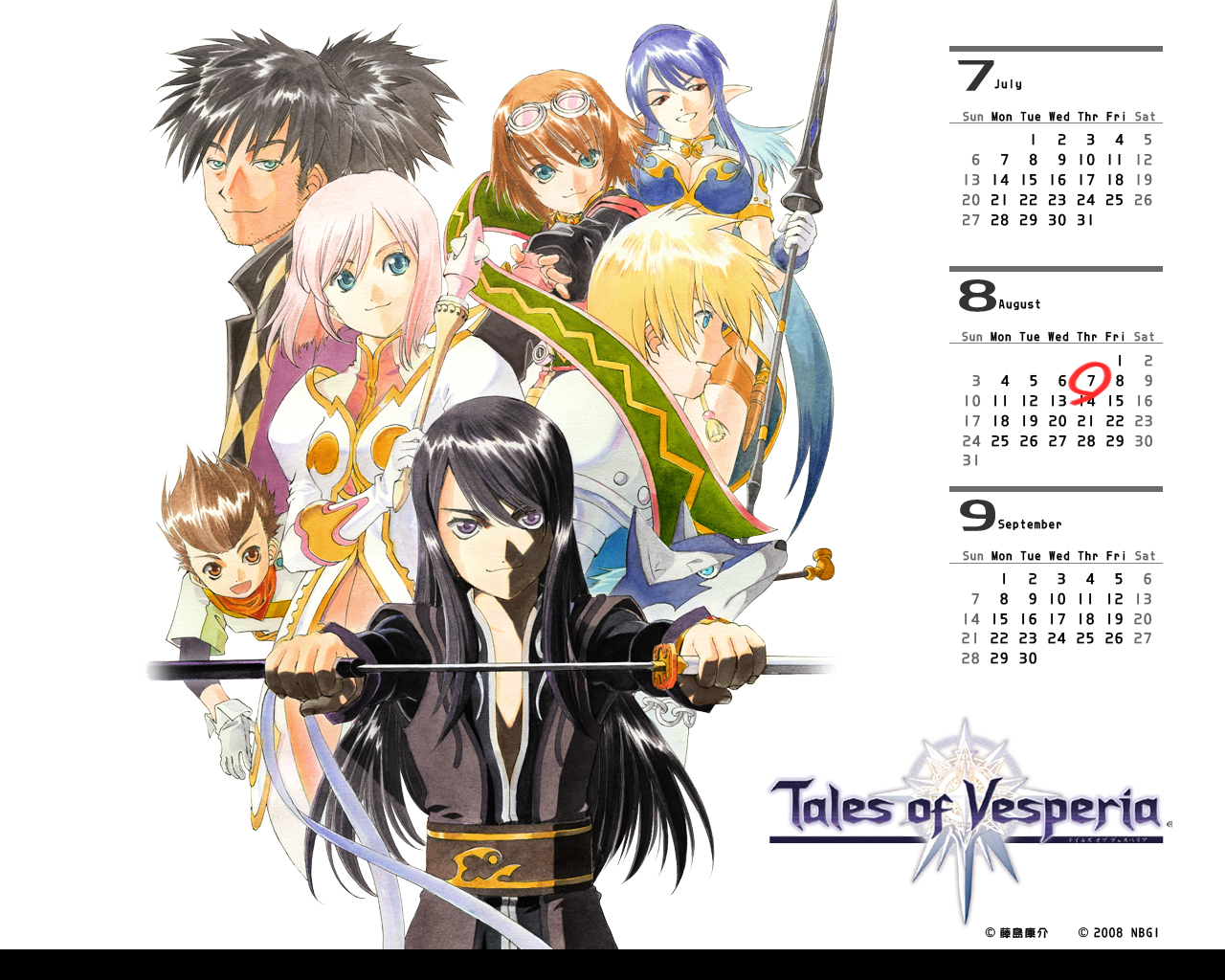 Tales of Vesperia Fiche RPG reviews previews wallpapers videos 1280x1024