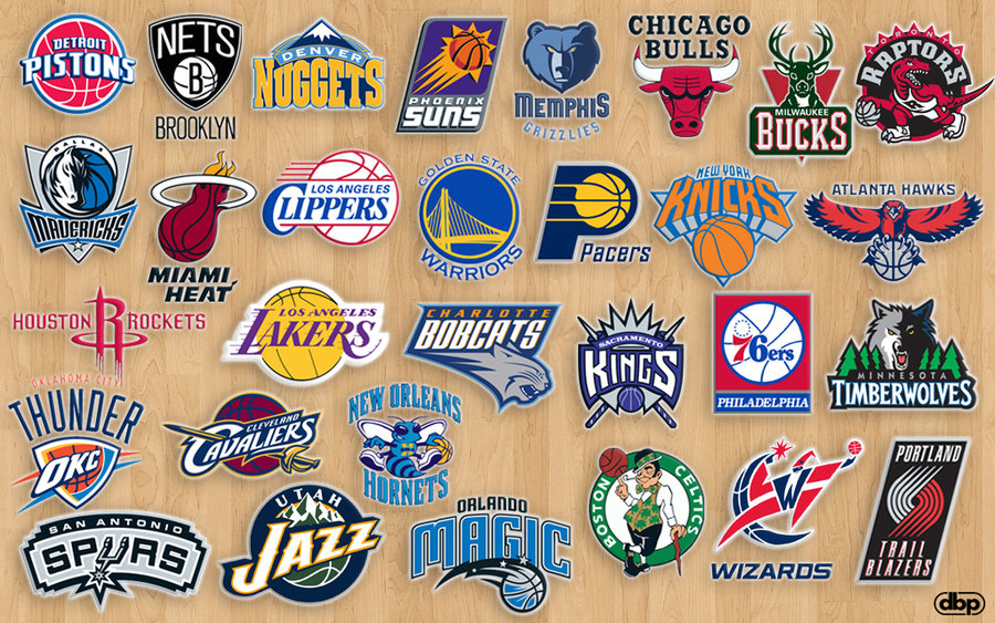 NBA Teams by danielboveportillo 900x563
